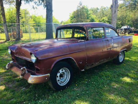1955 Chevrolet Bel Air/150/210 project [solid frame] for sale