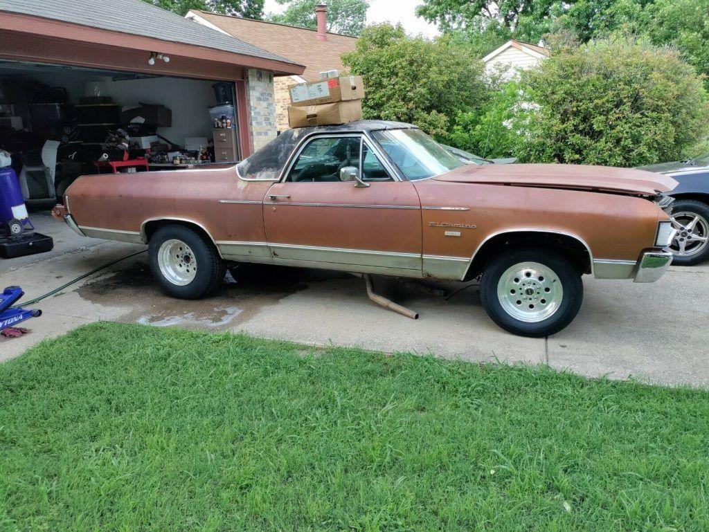 1972 Chevrolet El Camino project [many new parts]
