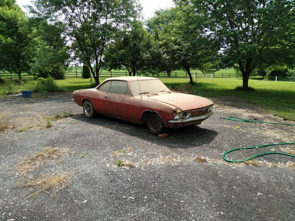 1966 Chevrolet Corvair Corsa project [comes with some spare parts]