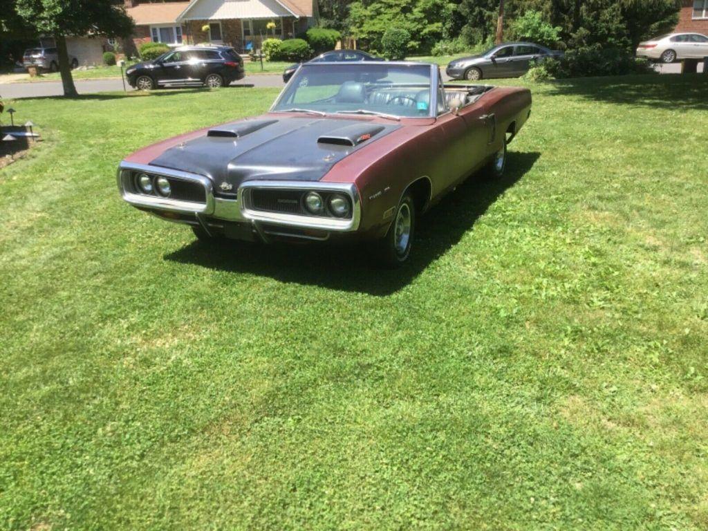 1970 Dodge Coronet 500 Convertible project [needs restoration]