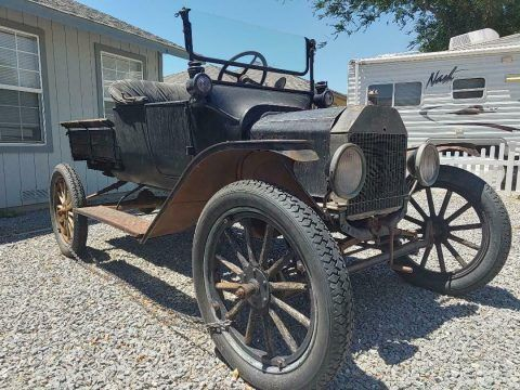 1915 Ford Model T project [true time capsule barn find] for sale