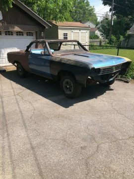 1967 Chevrolet Chevelle SS 396 Convertible project [real SS 396] for sale