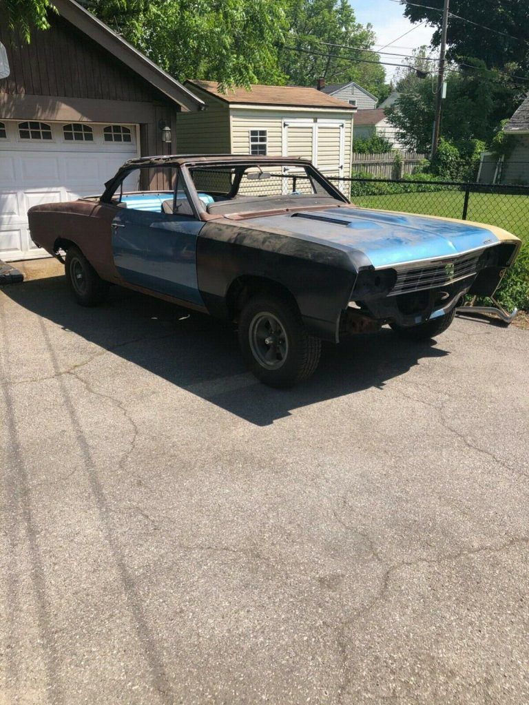 1967 Chevrolet Chevelle SS 396 Convertible project [real SS 396]