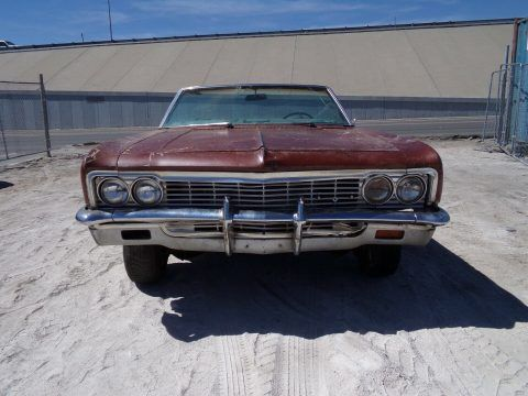 1966 Chevrolet Impala SS Convertible Project [true SS, barn find] for sale