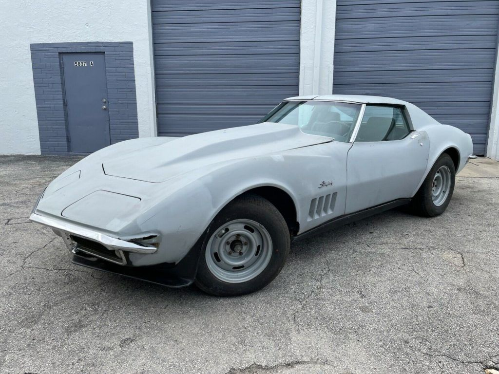 1969 Chevrolet Corvette T-Top project [very solid]