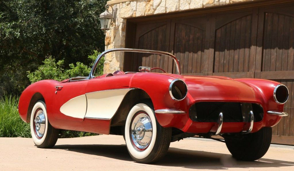 1957 Chevrolet Corvette project [never completed long time project]