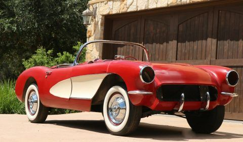 1957 Chevrolet Corvette project [never completed long time project] for sale