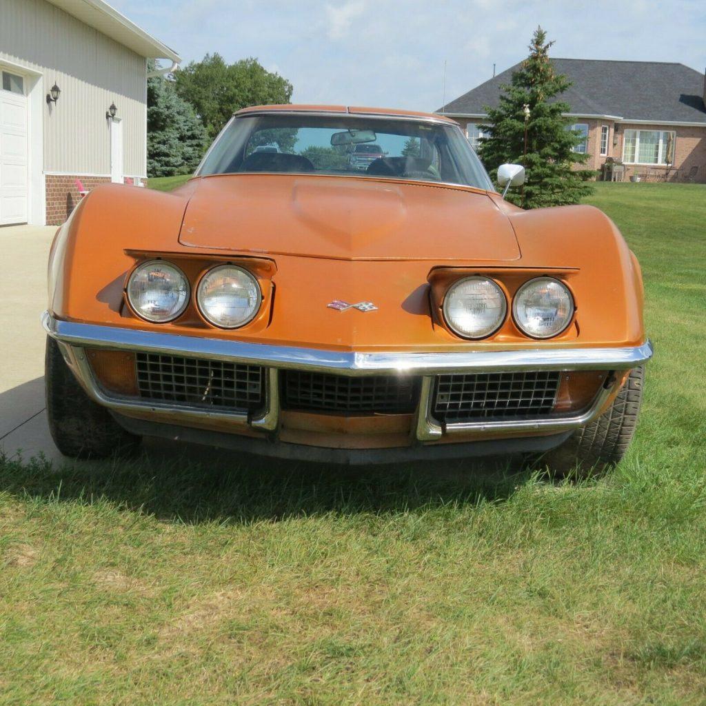 1971 Chevrolet Corvette project [Original Motor and Trans]