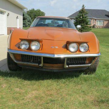 1971 Chevrolet Corvette project [Original Motor and Trans] for sale