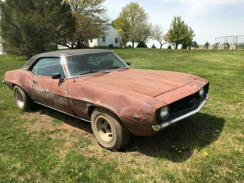 1969 Chevrolet Camaro X11 Project [replaced engine] for sale