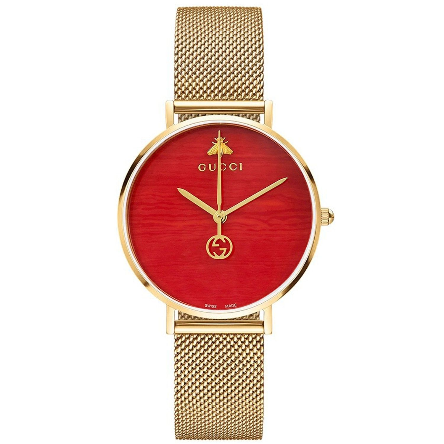G-Timeless Coral Red Dial Men's Watch