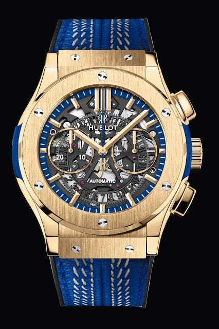 Blue Edition watch for men