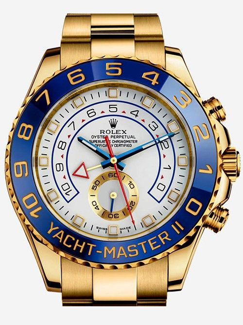 YACHT-MASTER II OYSTER PERPETUAL, 44 MM, YELLOW GOLD