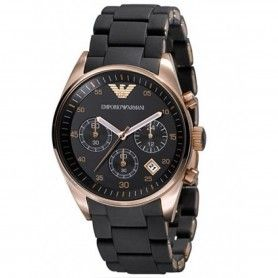 ROSE GOLD TONE CHRONOGRAPH MEN'S WATCH