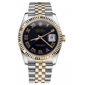 Datejust Stainless Steel and Gold Mens Watch