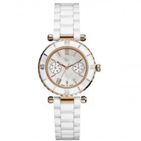 Gc Diver Chic White Ceramic Watch