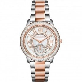 MICHAEL KORS Ladies Stone Set Madelyn Two Tone Watch