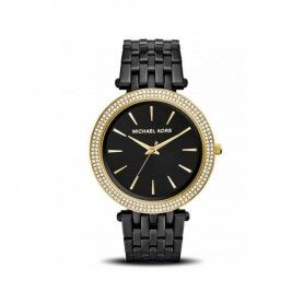 MICHEAL KORS DARCI PAVE BLACK-TONE WATCH