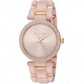 MICHAEL KORS DELRAY ROSE GOLD-TONE LADIES WATCH MK4322