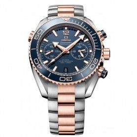 SEAMASTER PLANET OCEAN 45MM TWO TONE CHRONOGRAPH 600M