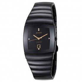 RADO Jubile Black Dial Black Ceramic Men's Watch