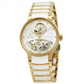 RADO Centrix Open Heart Mother Of Pearl Dial Automatic Ladies Watch