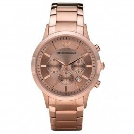 MEN WATCH ROSE GOLD CHRONOGRAPH WATCH