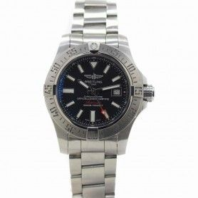 BREITLING PRE-OWNED Avenger II Automatic Chronometer Black Dial Men's Watch