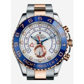 YACHT-MASTER II OYSTER PERPETUAL, 44 MM, STEEL AND EVEROSE GOLD