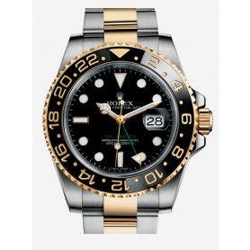 GMT-MASTER II OYSTER, 40 MM, STEEL AND YELLOW GOLD