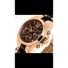 LADIES CHRONOGRAPH BROWN FACE