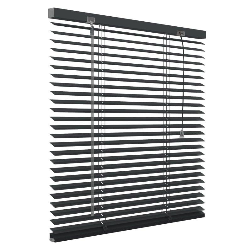 Aluminium jaloezie 25mm - Antraciet - 180cm x 180cm