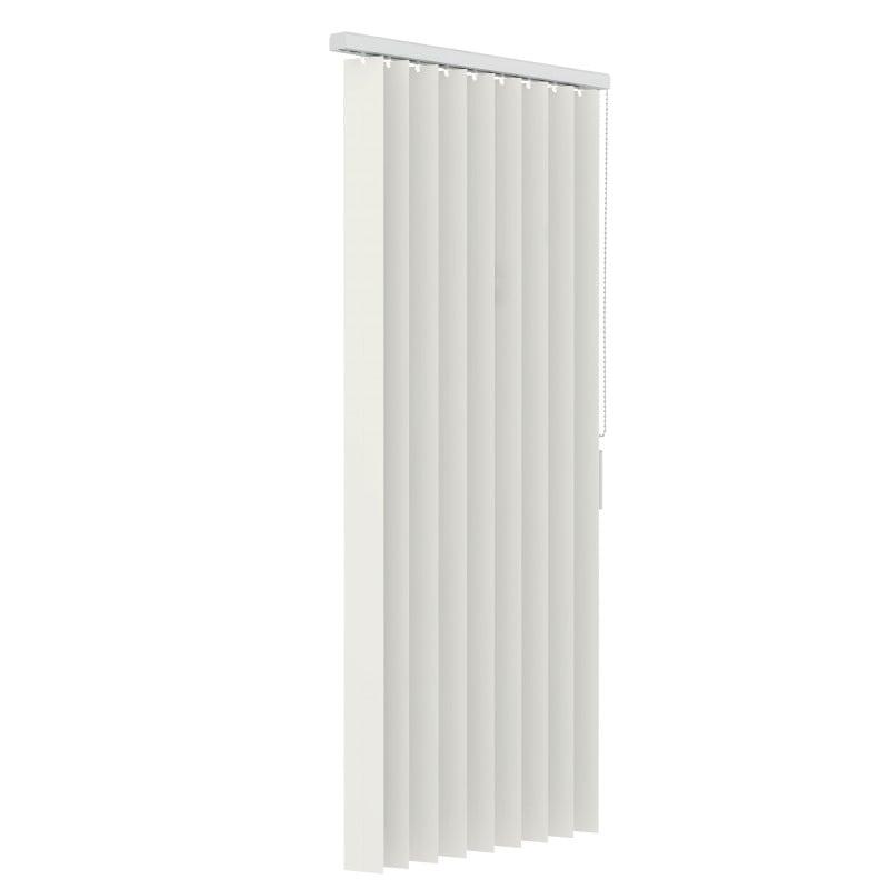 Verticale lamellen PVC 89mm - Gebroken wit - 150cm x 180cm