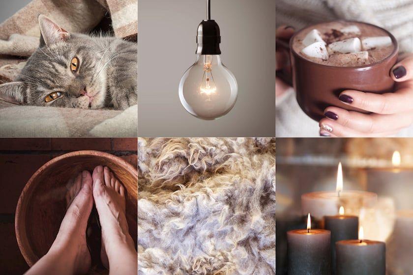 gezellige collage