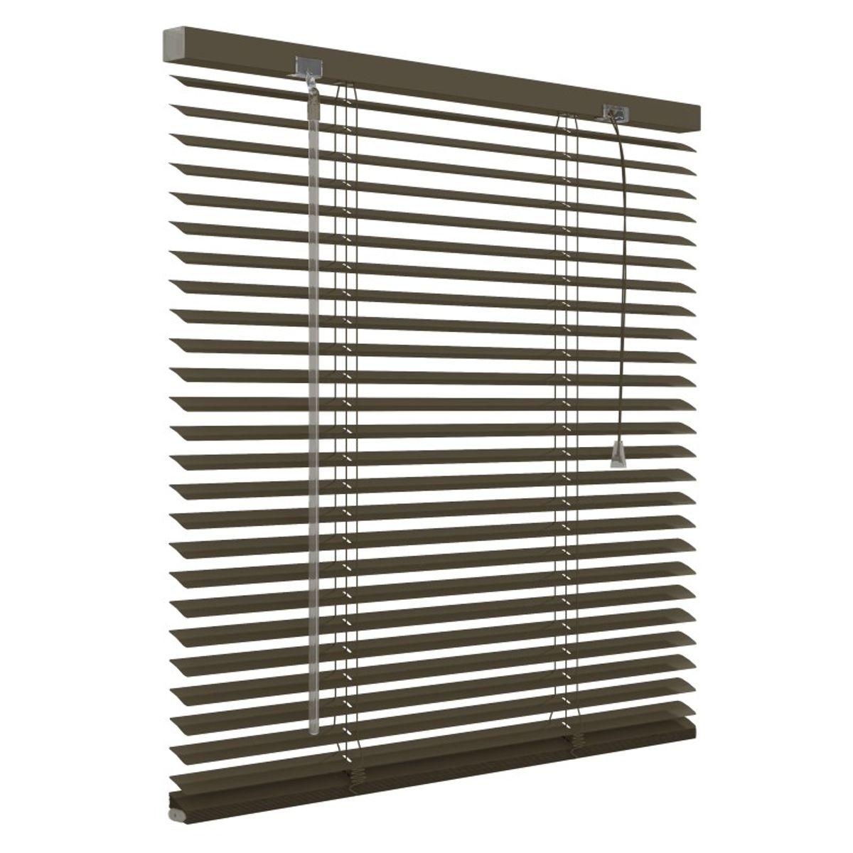 Aluminium jaloezie 25mm - Taupe - 180cm x 180cm