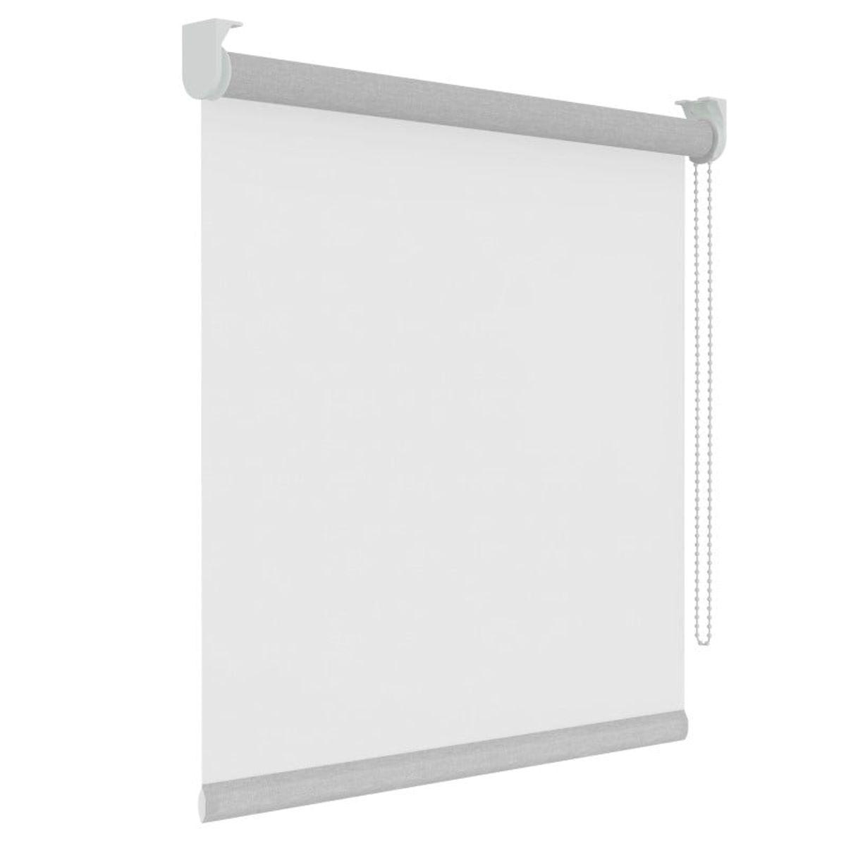 Rolgordijn - Lichtdoorlatend - Transparant Wit - 150cm x 190cm