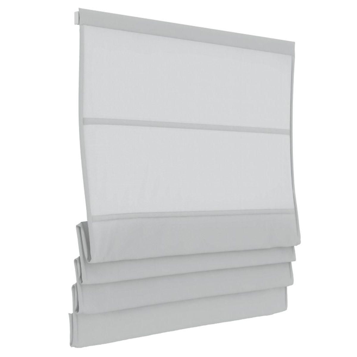Vouwgordijn - Wit - Lichtdoorlatend - 140cm x 180cm