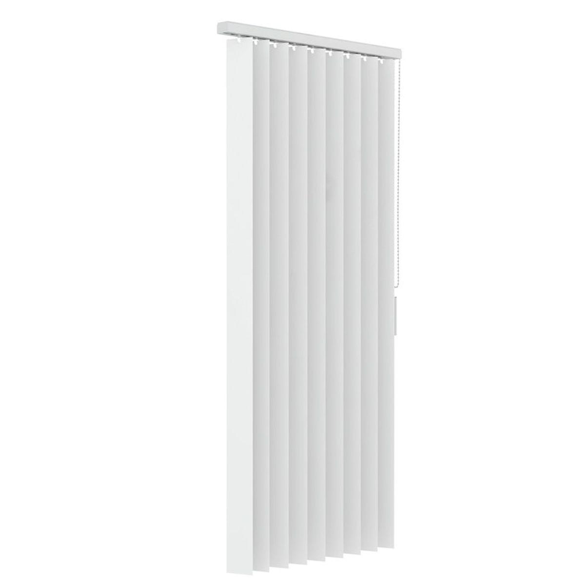 Verticale lamellen PVC 89mm - Wit - 150cm x 250cm