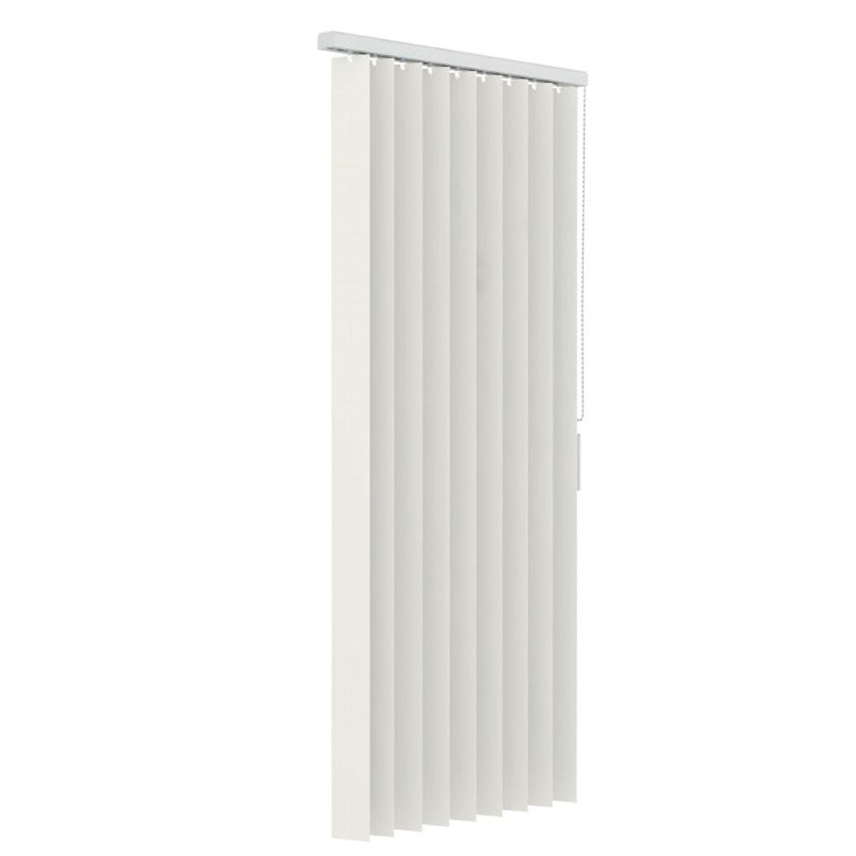 Verticale lamellen PVC 89mm - Gebroken wit - 250cm x 180cm