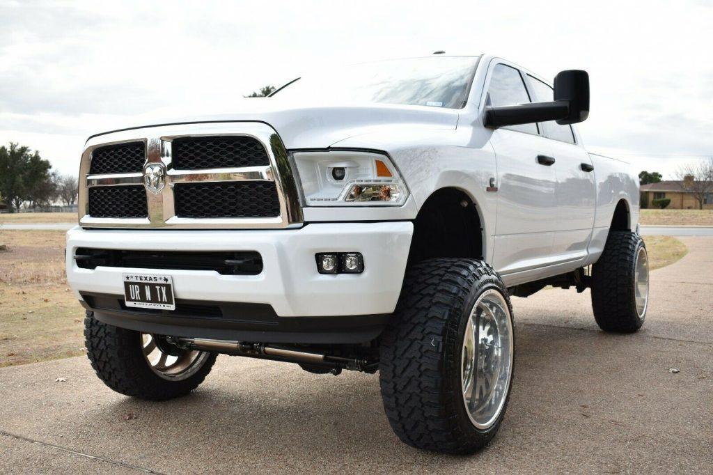 very clean 2016 Dodge Ram 2500 crew c ab