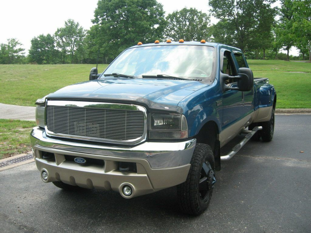 2001 Ford F-350 Lariat crew cab [loaded]