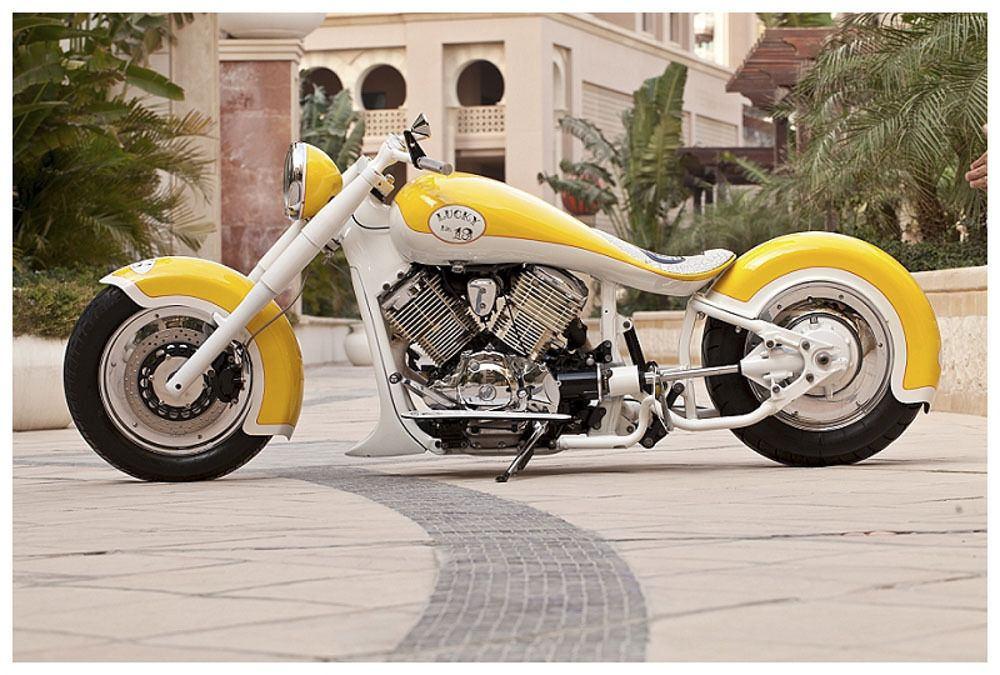 2000 Yamaha V Star 1100 Custom Built Motorcycles Chopper