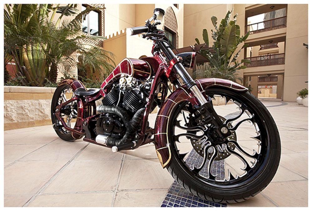 2003 Yamaha V Star Custom Built Motorcycles Chopper