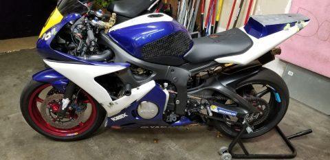 2003 Yamaha YZF R6 Race bike for sale