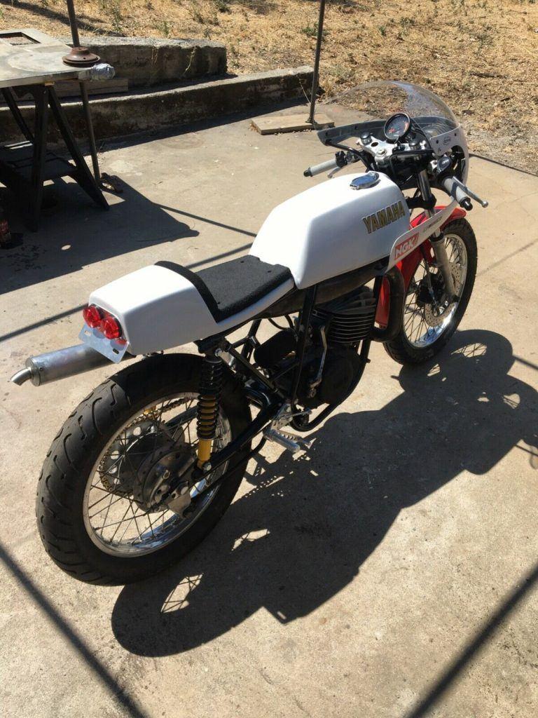 1974 Yamaha DT250A Cafe Racer