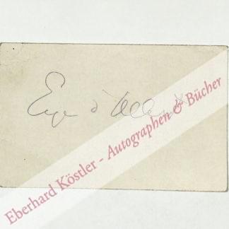 Albert, Eugen d', Komponist (1864-1932).