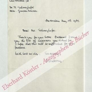 Diederen, Jef, Maler und Graphiker (geb. 1920).
