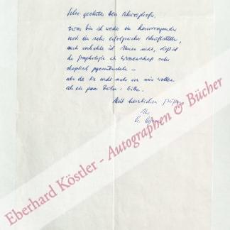 Ayren, Armin, Schriftsteller (geb. 1934).