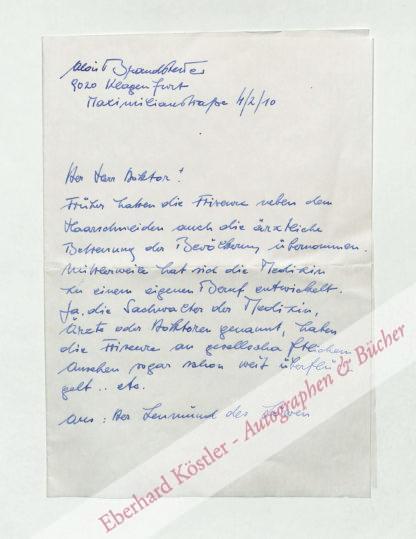 Brandstetter, Alois, Schriftsteller (geb. 1938).