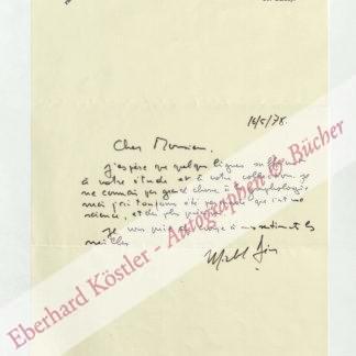 Deon, Michel, Schriftsteller (geb. 1919).